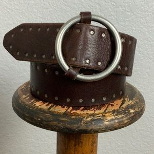 J. Crew Brown Leather Belt M